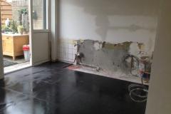 keuken nieuwe vloer