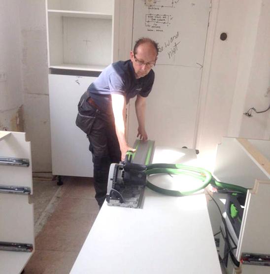 3,Demontage en voorbereidingen montage keuken